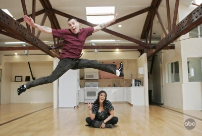 Steve-O and Lacey Schwimmer Dancing With The Stars