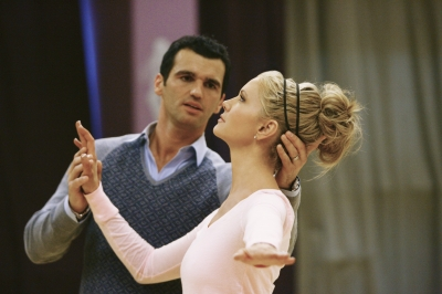 DANCING WITH THE STARS 8 - Nancy O'Dell - Tony Dovolani rehearsal ABC 1