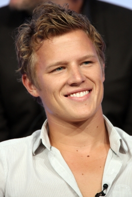 Christopher Egan of &#8216;Kings&#8217; speaks during the NBC Universal portion of the Television Critics Association Press Tour held at the Beverly Hilton hotel on July 21, 2008 in Beverly Hills, California