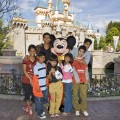 The children from 'Slumdog Millionaire' take a trip to Disneyland, Feb. 23, 2009