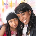 Jasmina Anema, who has Leukemia, gets a birthday visit from Kelly Rowland