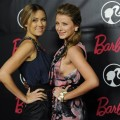 Lauren Conrad, and Lauren Lo Bosworth pose together at Barbie's 50th Birthday Party at her Real-Life Malibu Dream House