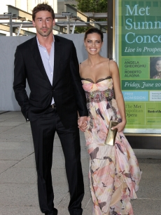 Marko Jaric and Adriana Lima at the 3rd annual American Ballet Theatre Noche Latina in New York (June 2008)