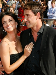 Adriana Lima and Marko Jaric at the 2008 ESPY Awards in LA