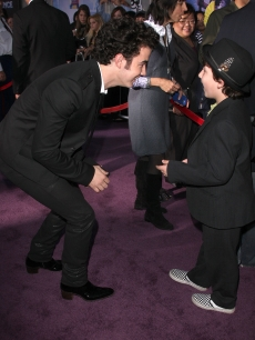 Kevin Jonas and brother Frankie Jonas arrive at the Walt Disney Pictures&#8217; &#8216;Jonas Brothers The 3D Concert Experience&#8217;