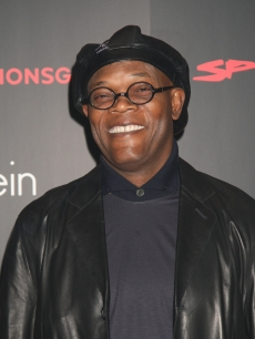 Samuel L. Jackson attends The Spirit launch party at the Old Sorting Office, New Oxford Street, on December 4, 2008 in London, England