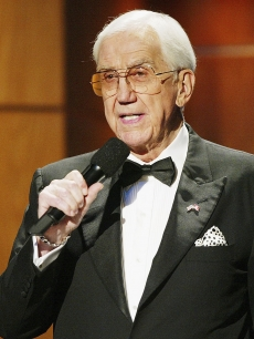 Ed McMahon performs at the 39th Annual Jerry Lewis MDA Labor Day Telethon