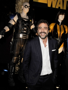 Actor Jeffrey Dean Morgan arrives at the afterparty for the premiere of Warner Bros. 'Watchmen' at the Avelon