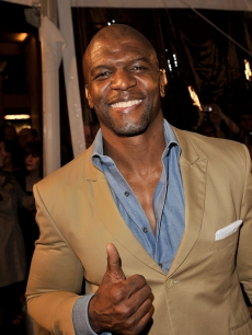 Terry Crews arrives at the premiere of Warner Bros. 'Watchmen' held at Grauman's Chinese Theatre