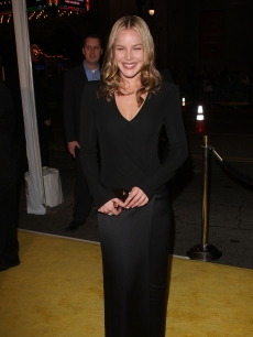Abbie Cornish arrives at the premiere of Warner Bros. 'Watchmen' held at Grauman's Chinese Theatre