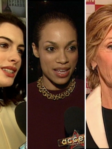 Anne Hathaway, Rosario Dawson and Jane Fonda