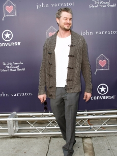 Eric Dane arrives at the 7th Annual John Varvatos Stuart House Benefit at the John Varvatos Store on March 8, 2009 in LA