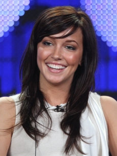 Katie Cassidy, of the television show &#8216;Harper&#8217;s Island&#8217; attends the CBS &amp; Showtime portion of the 2009 Winter Television Critics Association Press Tour