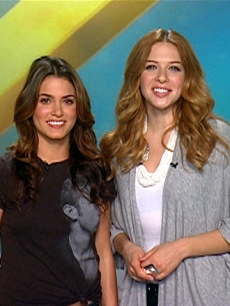 'Twilight' stars Nikki Reed and Rachelle Lefevre