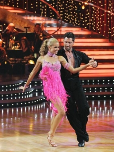 Denise Richards Maksim Chemerkovskiy DWTS Week One