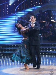 Lacey Schwimmer and Steve-O DWTS Week 1