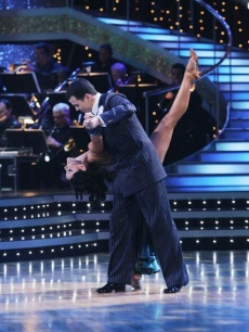 Lacey Schwimmer and Steve-O DWTS week one