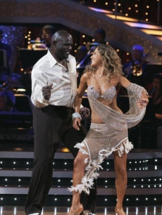Lawrence Taylor and Edyta Sliwinska DWTS Week One