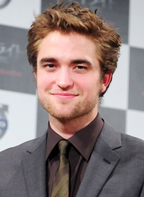 Robert Pattinson attends the 'Twilight' press conference at Ebisu Garden Place on February 27, 2009 in Tokyo, Japan