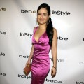 Danica McKellar strikes a pose on the red carpet