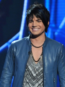 Adam Lambert performs live at 'American Idol' March 10, 2009 in Los Angeles, California