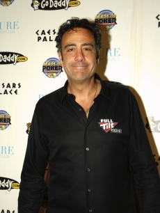 Brad Garrett attends the NBC National Heads Up Poker Championship at Caesars Palace