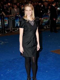 Reese Witherspoon attends the UK premiere of 'Monsters Vs Aliens' held at The Vue Cinema, Leicester Square on March 11, 2009