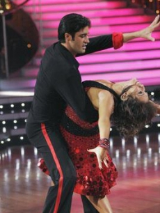 Gilles Marini and Cheryl Burke on the season premiere of 'Dancing With the Stars'