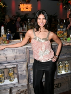 Roselyn Sanchez of &#8216;Without a Trace&#8217; at an Absolut Mango event Tuesday, March 10, in NYC