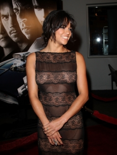 Michelle Rodriguez arrives at the premiere Universal's 'Fast & Furious' held at Universal CityWalk