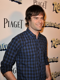 Bill Hader arrives on the red carpet of 'Adventureland' held at the Mann Chinese 6 Theater on March 16, 2009 in Hollywood, California