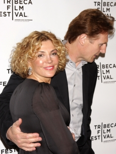 Natasha Richardson and Liam Neeson attend the Chanel Tribeca Film Festival Dinner held at Ago at the Greenwich Hotel during the 2008 Tribeca Film Festival on April 28, 2008 in New York City