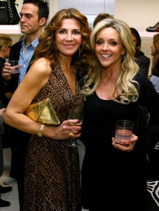 Natasha Richardson and Jane Krakowski attend the Michael Kors store opening at 101 Prince Street December 10, 2007 in New York City