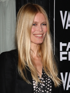 Claudia Schiffer attends the Fashion Fringe at Covent Garden 2009 launch party held at Tini, Knightsbridge on March 17, 2009 in London, England