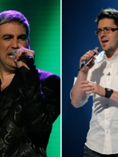 &#8216;American Idols&#8217; past and present: Taylor Hicks and Danny Gokey