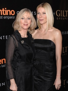 Blythe Danner and daughter Gwyneth Paltrow attend the premiere of &#8216;Valentino: The Last Emperor&#8217; at The Museum of Modern Art on Tuesday, Mar. 17, 2009 in New York