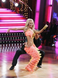 Chuck Wicks and Julianne Hough DWTS Week2