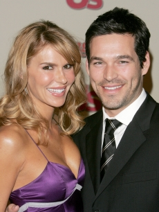 Eddie Cibrian and wife Brandi in 2006