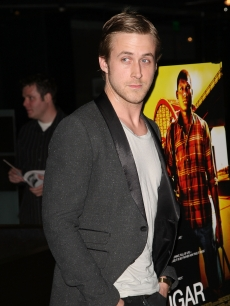 Ryan Gosling arrives at the Los Angeles premiere of 'Sugar' held at the Silver Screen Theater at the Pacific Design Center