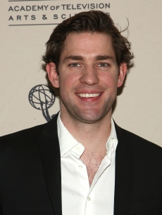 John Krasinski arrives at the Academy of Television Arts and Sciences' 'Inside the Office' panel discussion