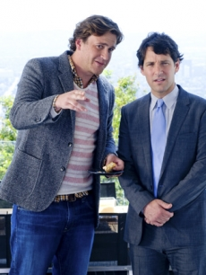 Jason Segel and Paul Rudd in 'I Love You, Man'
