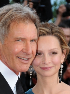 Harrison Ford and Calista Flockhart at Cannes 2008