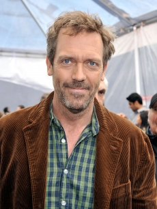 'House' doc Hugh Laurie at the premiere of 'Monsters Vs. Aliens'