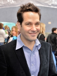 Paul Rudd smiles at the premiere of &#8216;Monsters Vs. Aliens&#8217; in LA