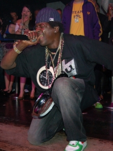 Flavor Flav celebrates his 50th birthday at Jet Nightclub at the Mirage in Las Vegas
