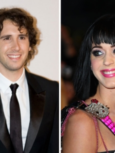 Josh Groban and Katy Perry