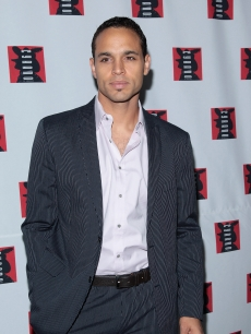 Daniel Sunjata attends the after-party for the opening night of 'Cyrano De Bergerac' at Spotlight November 1, 2007 in New York City