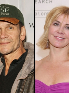 Patrick Swayze and the late Natasha Richardson