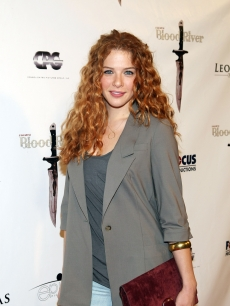 &#8216;Twilight&#8217; star Rachelle LeFevre arrives for the Premiere of &#8216;Blood River&#8217; at the Egyptian Theatre on 24 March, 2009 in Los Angeles