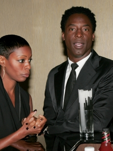 Isaiah Washington and his wife Jenisa Marie Washington